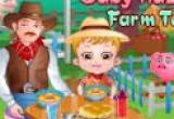 لعبة بيبي هازل في المزرعة السعيدة الجديدية جدا