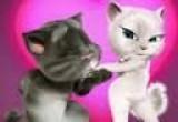 لعبة القط الناطق توم وموعد غرامي