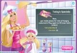 العاب باربي طبخ البيتزا