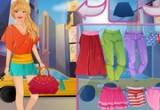 لعبة باربى والتسوق في نيويورك