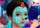 لعبة تنظيف البشرة بمستحضرات التجميل الطبيعية