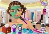 لعبة تنظيف بشرة البنت المزة الحديثة
