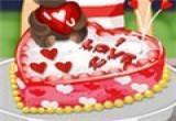العاب طبخ كيك عيد الحب