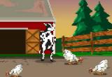العاب مغامرات البقرة الضاحكة الحقيقية